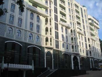 Фасад дома Шах Наме